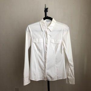 Jil Sanders blouse white buttoned down size:36